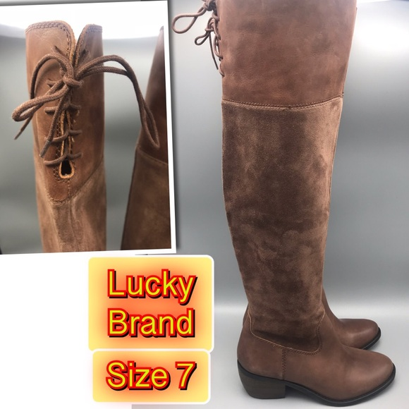 5385aa4c43e Lucky Brown LK-Komah Tobacco Karson suede Boot 7